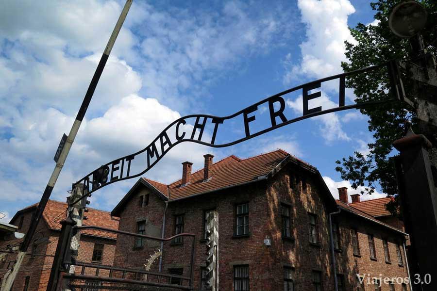 el trabajo os hará libres, Auschwitz