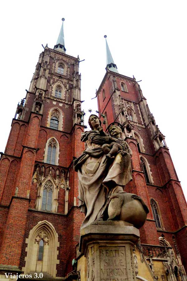 catedral de San Juan Bautista en Wroclaw