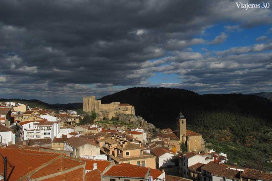 vista general de Yeste en Albacete