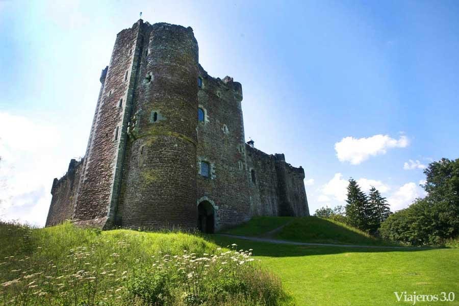 Castillo de Doune en Escocia, castillos más bonitos de Escocia