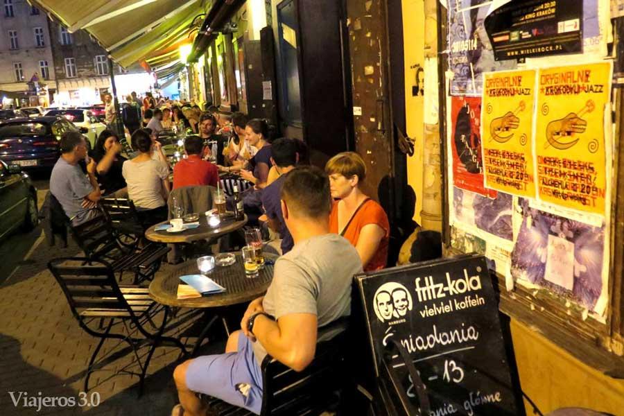 vida nocturna en Kazimierz Cracovia