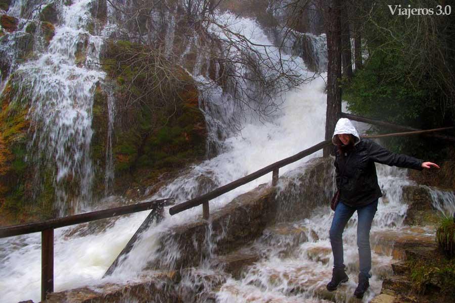 senderismo nacimiento del río Cuervo de Cuenca