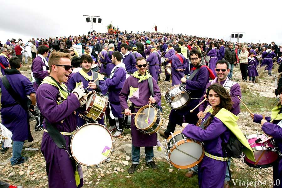 tamborileros y tambores de Tobarra
