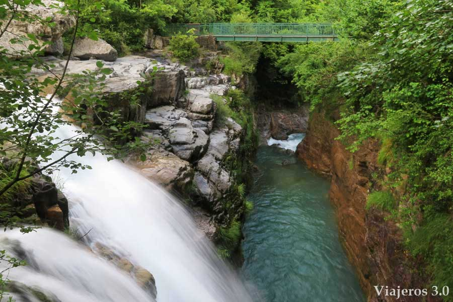 cascadas del cañón del Añisclo