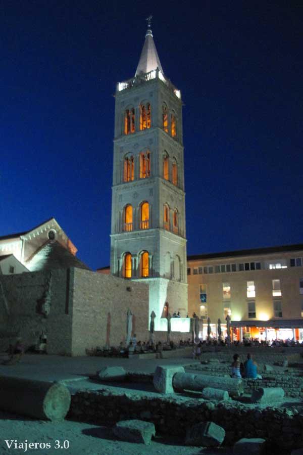 iglesia de San Donato en el casco antiguo de Zadar