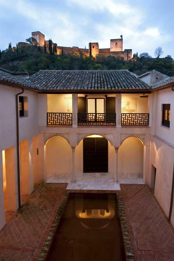 la Casa de Zagra y la Alhambra de Granada