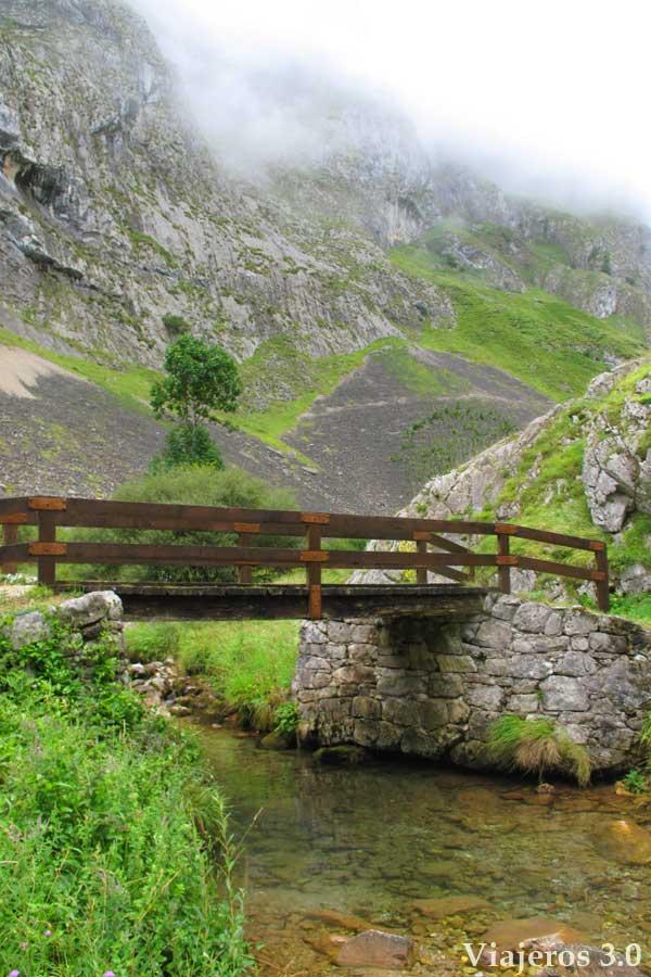 Ruta de senderismo a Bulnes a pie