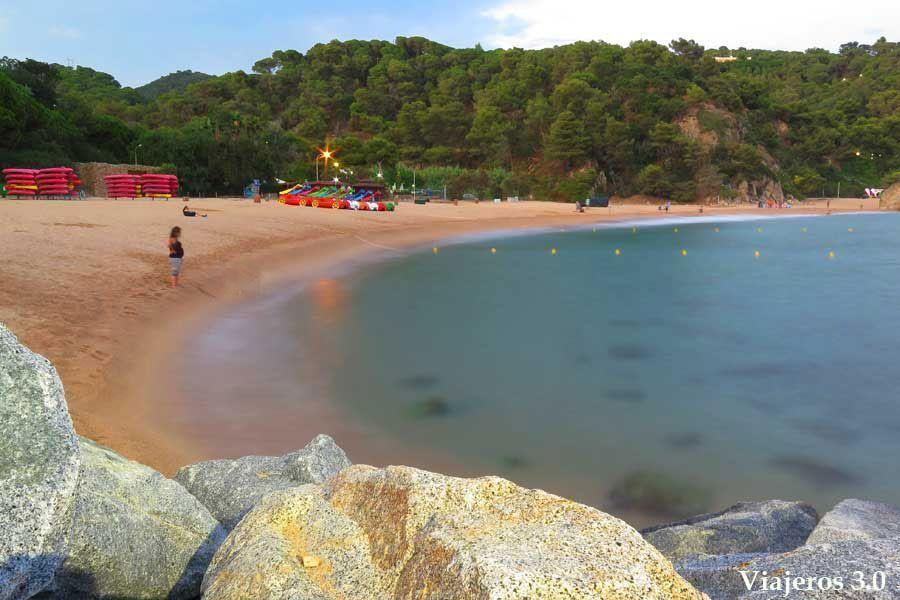 Cala Canyelles en Costa Brava