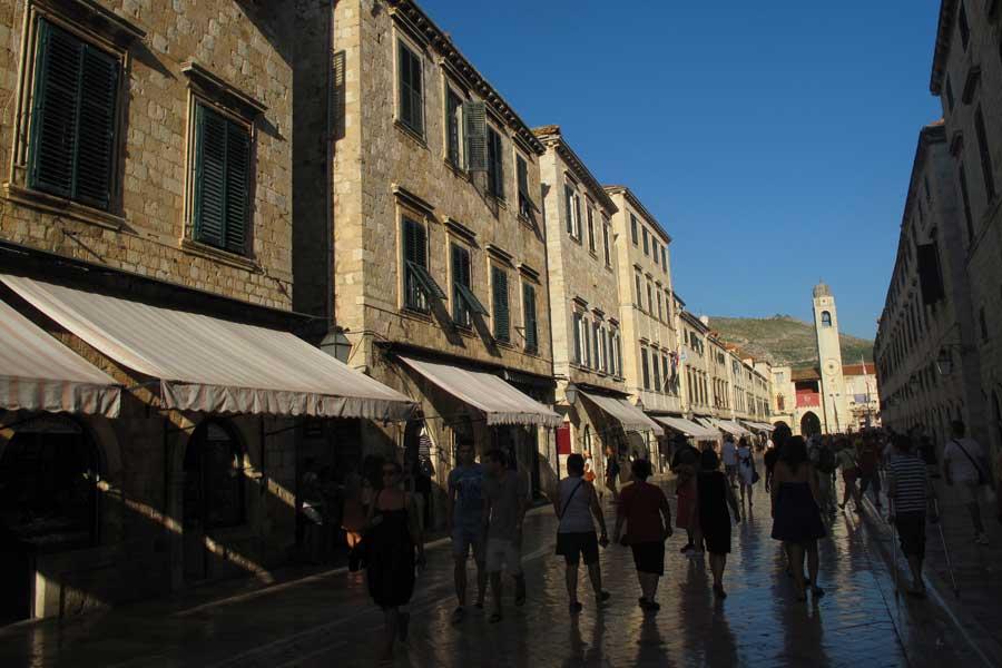 calles de la ciudad vieja de Dubrovnik