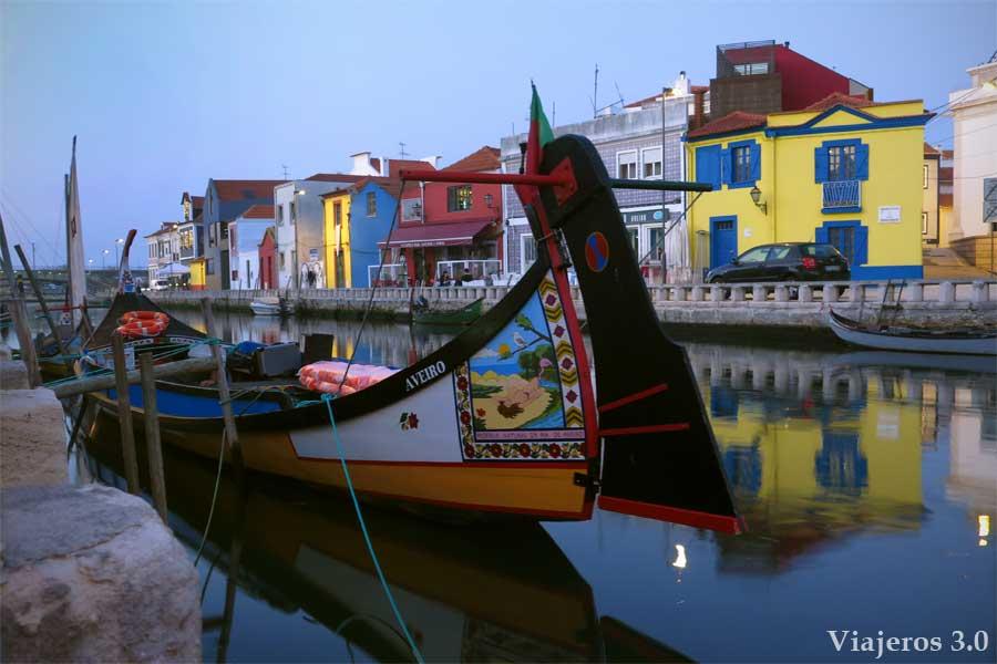 canales navegables de Aveiro