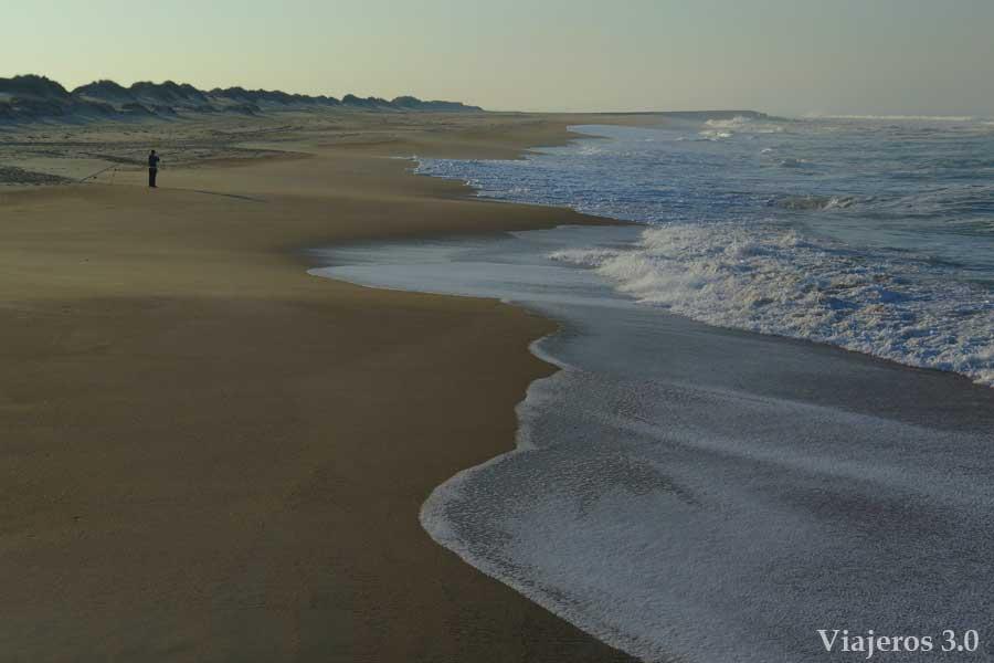playa de Costa Nova, playas de Aveiro
