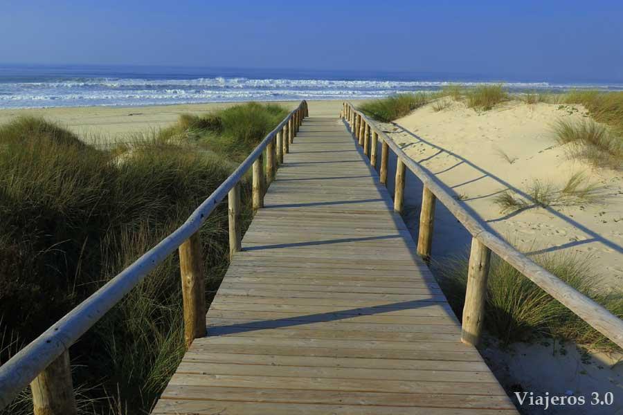 playa de Torreira, playas de Aveiro