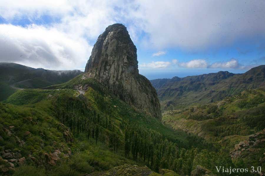 Mirador de los Roques, en ruta por Garajonay