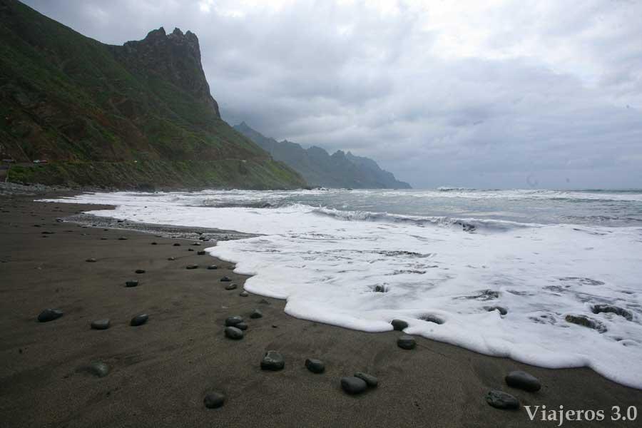 playas de arena negra en Tenerife