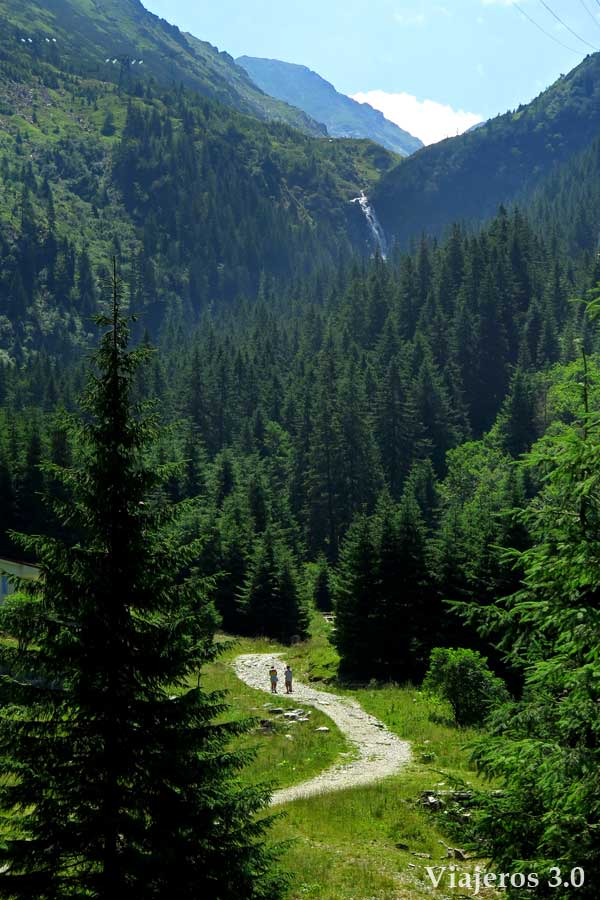 Montañas Fagaras en Transilvania