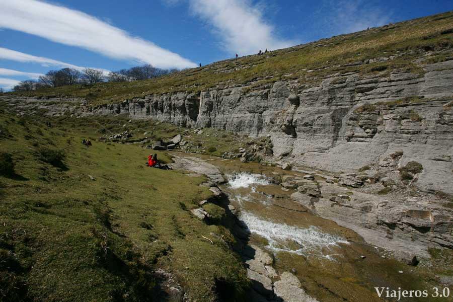 Salto del Nervión en Monte Santiago