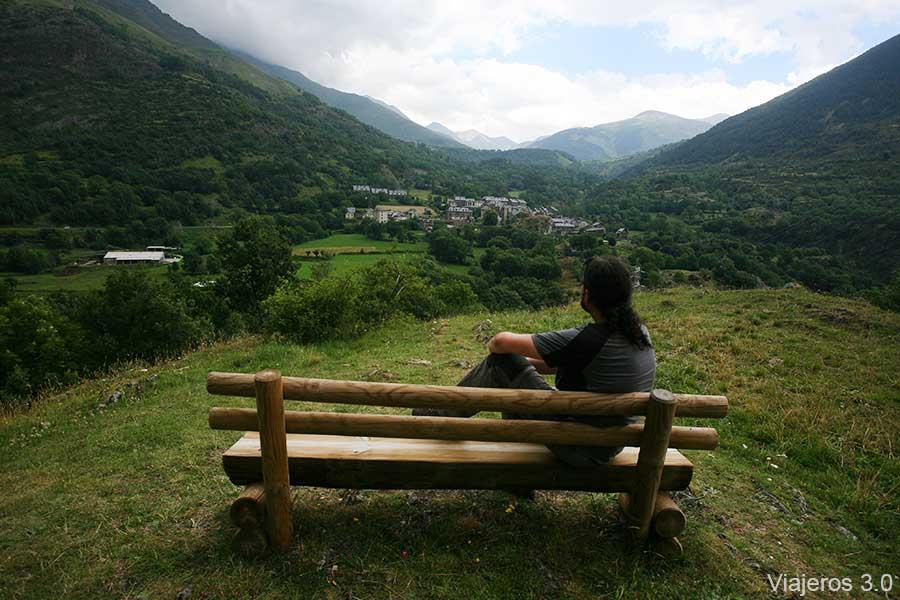 mirador en Erill La Vall