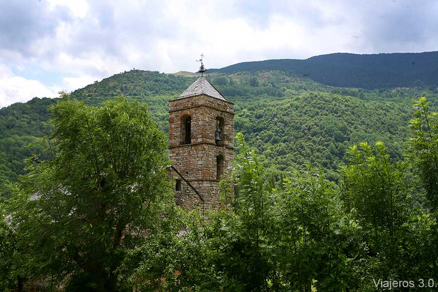 Sant Feliu de Barruera, iglesias románicas de La Vall de Boí