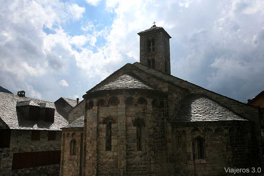Santa Maria de Taüll, iglesias románicas de La Vall de Boí