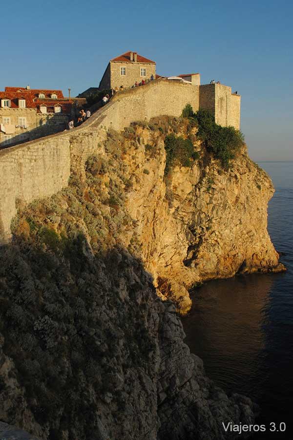 recorrido por las murallas de Dubrovnik