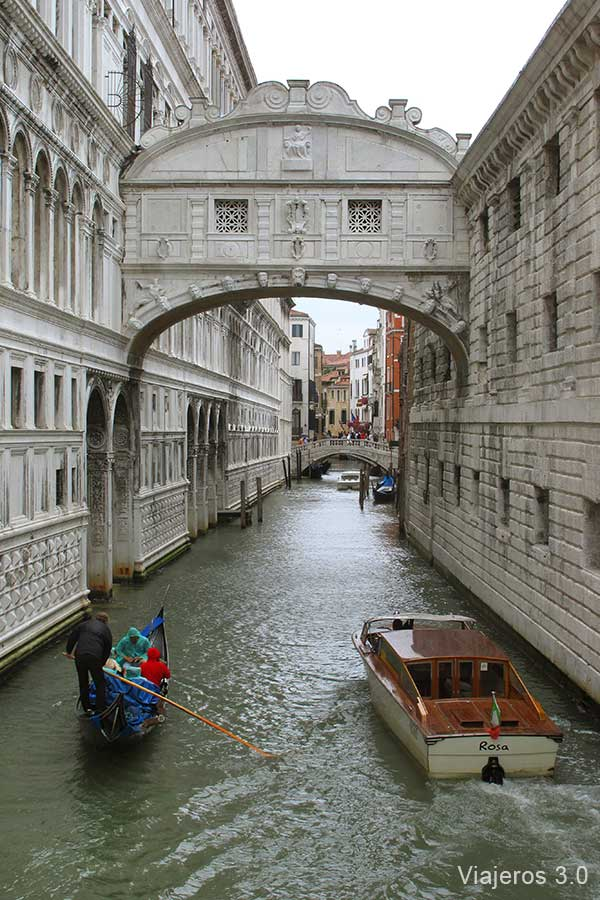 Puente de los Suspiros, qué ver en Venecia