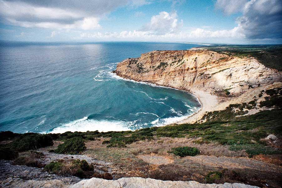 Acantilados de Cabo Espichel. Foto: Philippe Leroyer