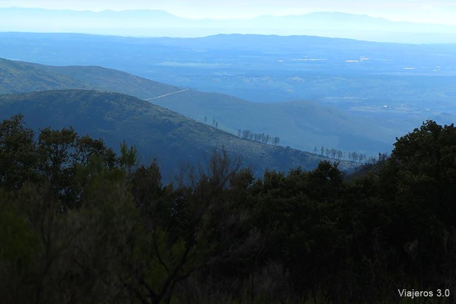 Paisajes en la comarca de Sierra de Gata