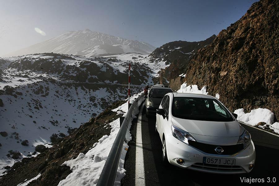 nieve en el Teide, qué ver en Teide