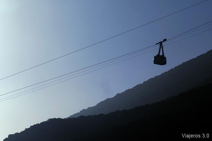 qué ver en el Teide, teleférico