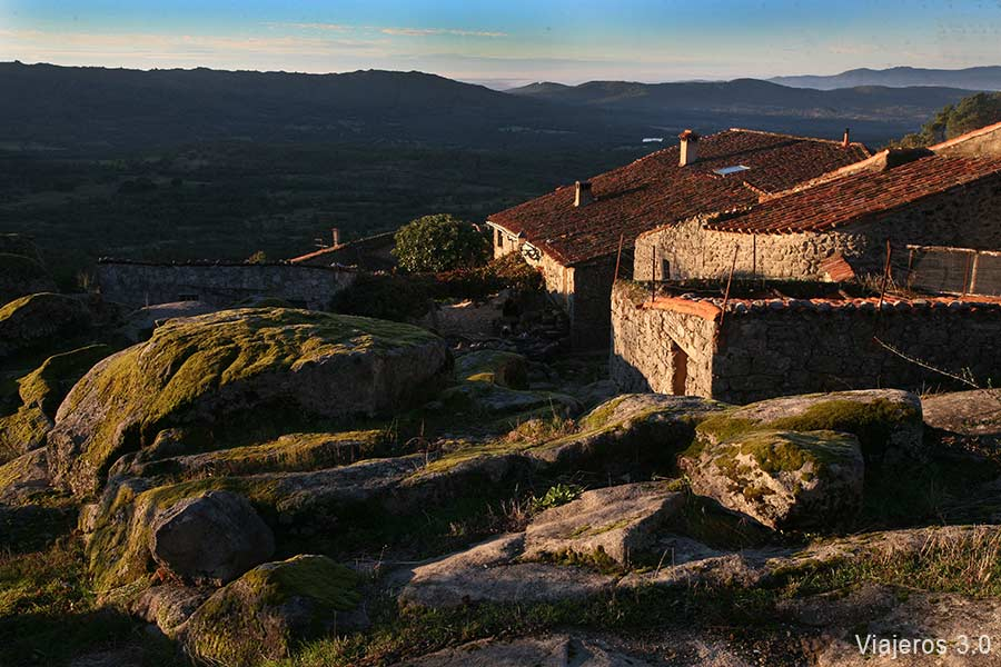 arquitectura popular en Trevejo, Sierra de Gata