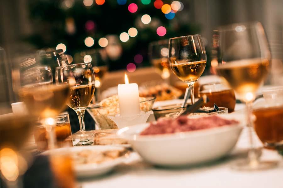 Cena de Navidad, platos internacionales