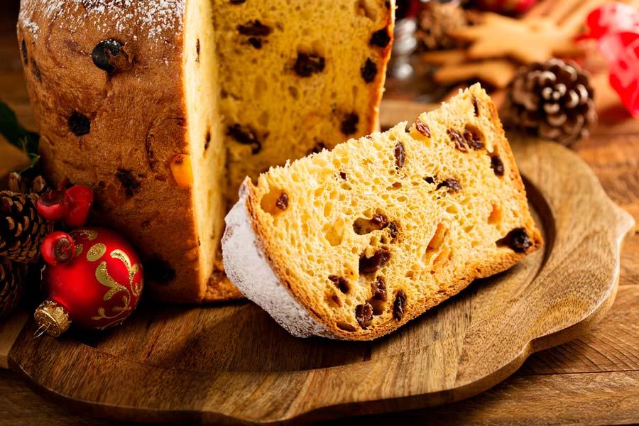 panetona, platos de navidad del mundo