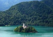 isla en el lago Bled, que ver cerca de Liubliana