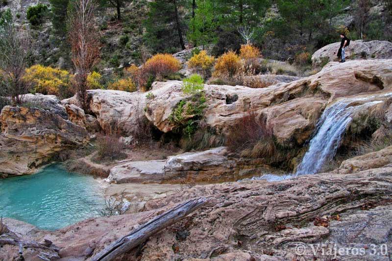 Cascadas en las Chorreras de Enguídanos.