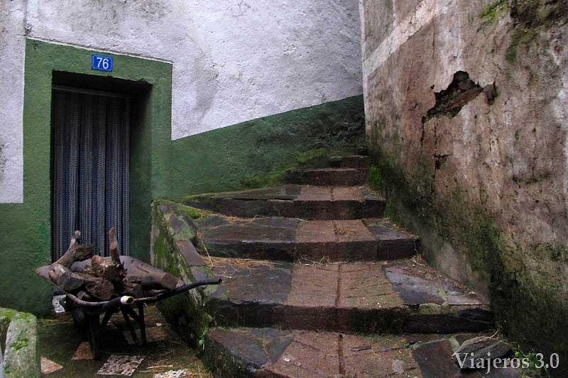 El Gasco, arquitectura tradicional en Las Hurdes.