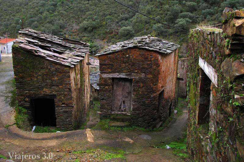Arquitectura negra de Las Hurdes.