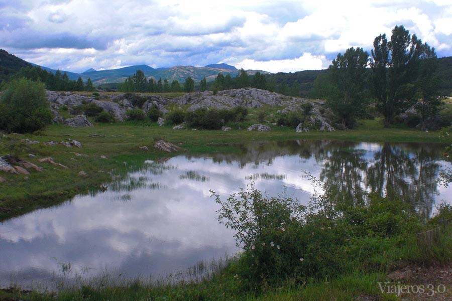 Embalse de Aguilar de Campoo, pantanos de la Montaña Palentina