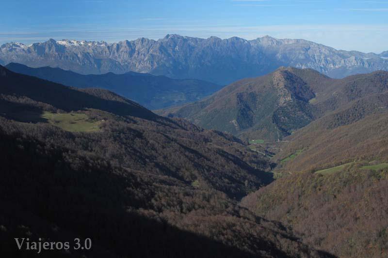 mirador Picos de Europa, pantanos de la Montaña Palentina