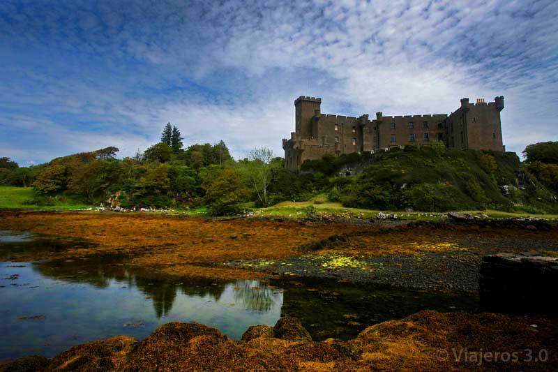 Castillo Dunvegan, qué ver en la isla de Skye