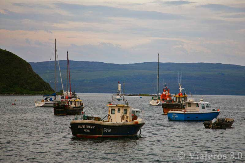 Portree, ruta por la isla de Skye en Escocia