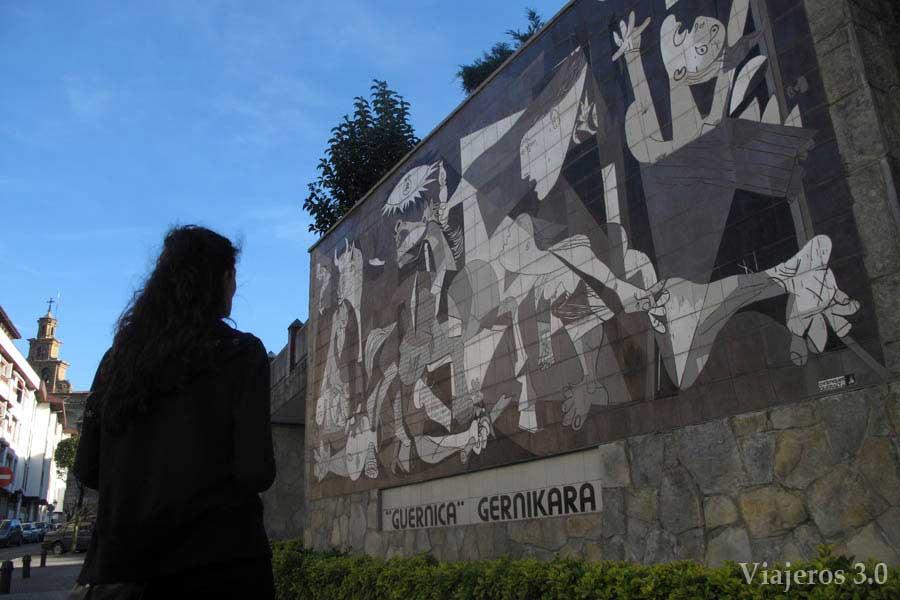 Picasso de Gernika, Reserva de Urdaibai