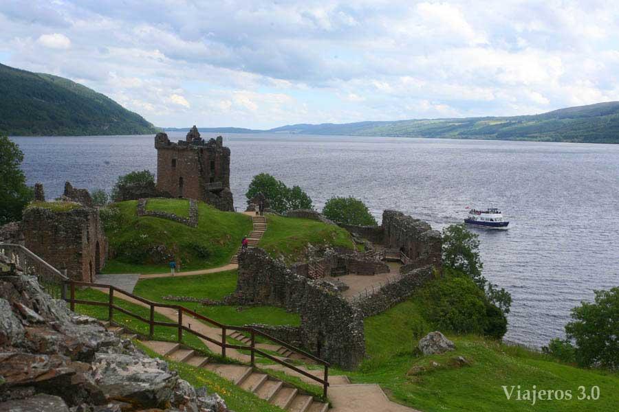 castillo deUrquhart, qué ver en el Lago Ness