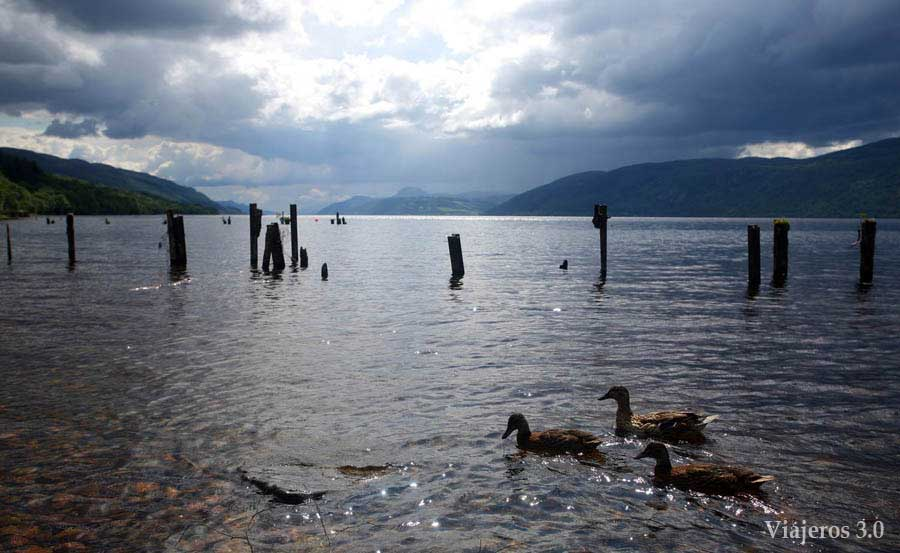 El Lago Ness en Escocia