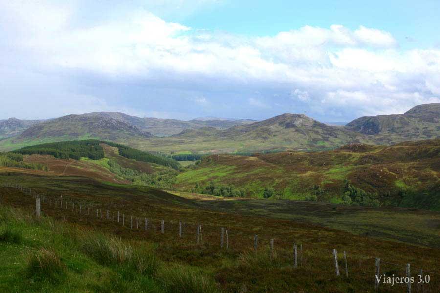 Ruta del Lago Ness en Escocia