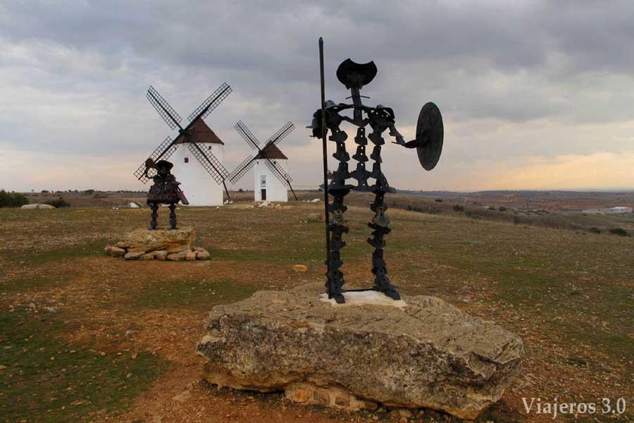 molinos de viento Mota del Cuervo