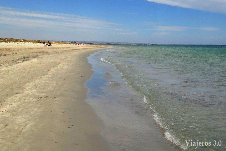 Playa Punta de Algas.