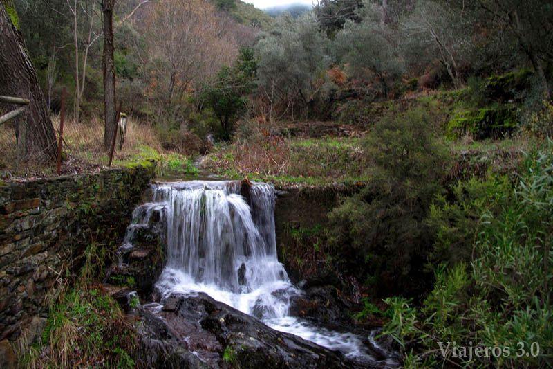cascada, ruta por Las Hurdes