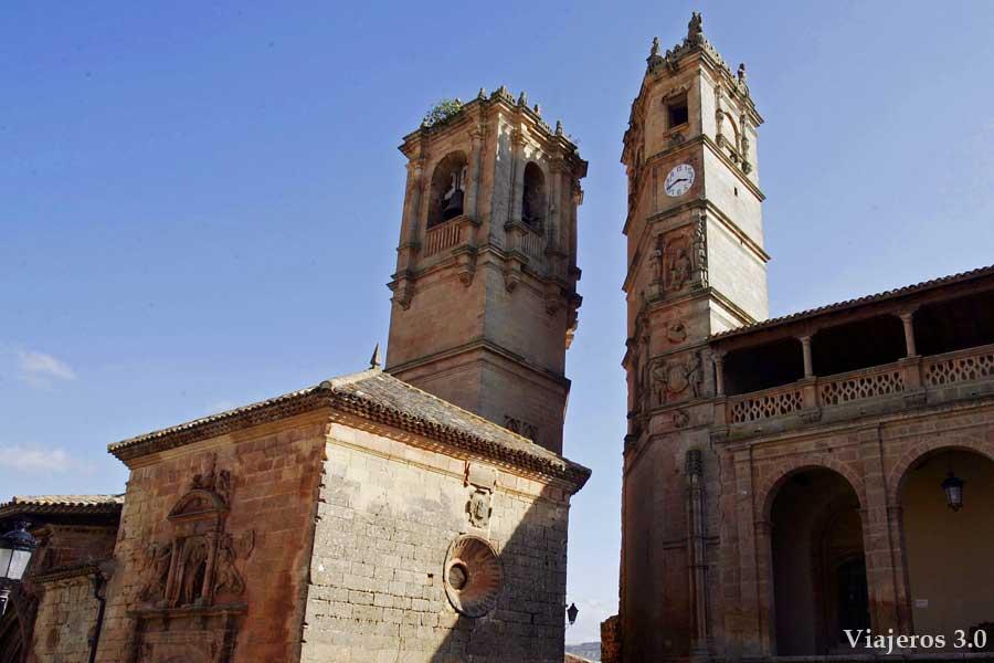 las torres de Alcaraz en Albacete
