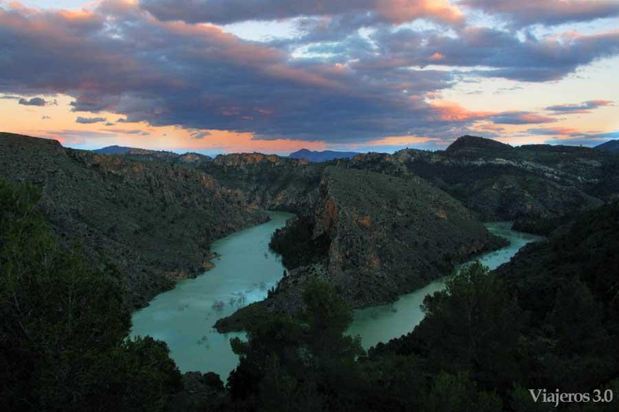 meandro del río Segura en Albacete