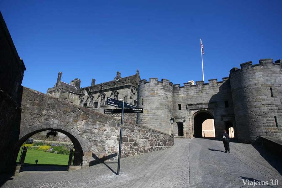 entrada del castillo de Stirling